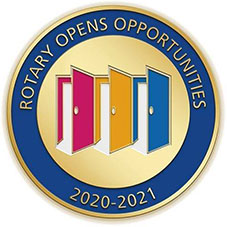Rotary Opens Opportunities Medallion
