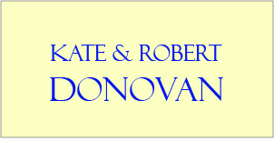Ad for Kate and Robert Donovan no pictures or contact info