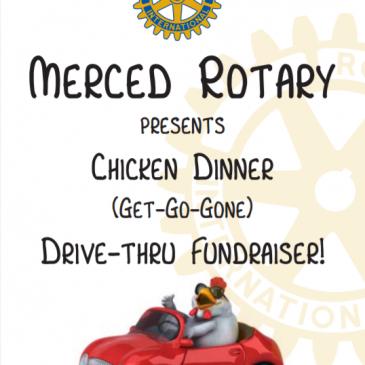 Merced Rotary Chicken Dinner May 13