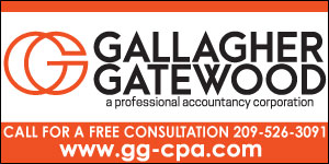 advertisement for Gallagher Gateway with logo