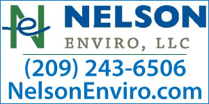 Ad for Nelson Enviro with logo