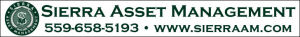 Advertisement for Sierra Asset Management with logo